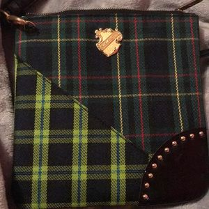 Mac Plaid Crossbody Bag
